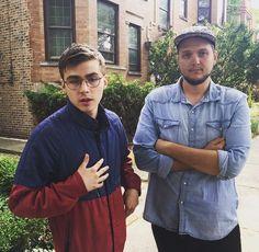 Miles Heizer & Charlie Brand