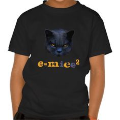 #CrossCat vs Einstein! E=mice2 Shirt - Cross Cat gets it right... #cats #funnycats #einstein #tshirts
