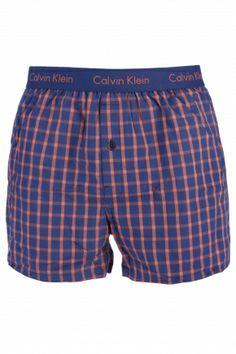 Calvin Klein Woven Slim Fit Chequered Boxer Shorts  £18.00