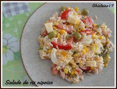 Salade de riz niçoise - 2ème