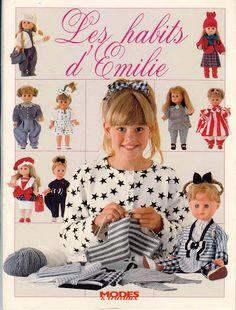 33 New Ideas Sewing Patterns Girls American Dolls Sewing Patterns Girls, Doll Dress Patterns, Clothing Patterns, Crochet Doll Clothes, Sewing Clothes, Crochet Beanie Pattern, Baby Sweaters, Album, Crochet Baby