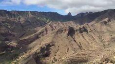 Ecxursion to La Gomera island - Panoramic view of Aguajilva Valley