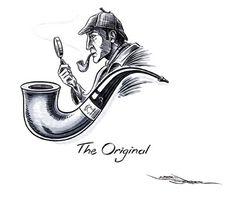 Sherlock Holmes Original Illustrations | Description: Abraham Lincoln historic art prints