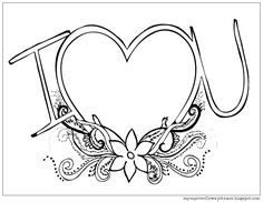 My Cup Overflows: I Love You coloring page Valentine Coloring Pages, Quote Coloring Pages, Adult Coloring Pages, Coloring Sheets, Coloring Books, Child Sponsorship, Bible Quotes, Zentangle, Fathers Day