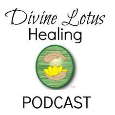 Divine Lotus Healing Podcast Logo