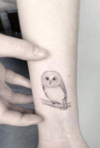 35 Small Owl Tattoo Designs Owl Tattoo Small Animal Tattoos For Women Tattoos For Women Small