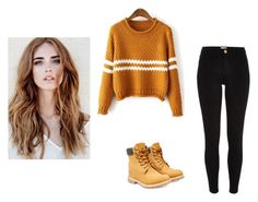 """Sweater Weather"" by mitchxox on Polyvore featuring River Island and Timberland"