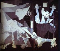 Guernica, Pablo Picasso BBC - Culture - Remembrance Day: The 10 greatest paintings of war Pablo Picasso, Picasso Guernica, Art Picasso, Picasso Paintings, Great Paintings, Art Espagnole, Bombing Of Guernica, Georges Braque, Museum