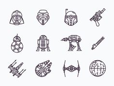 Star wars icons future tats star wars icons, tattoos, star w Mini Tattoos, Trendy Tattoos, New Tattoos, Small Tattoos, Tattoos For Women, Tatoos, White Tattoos, Ankle Tattoos, Arrow Tattoos