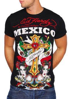 0fe673431e ed hardy mexico shirt! Christian Audigier