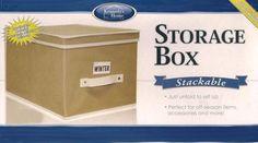 Stackable Storage Box