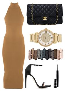 """""""Untitled #51"""" by rodoulla97 on Polyvore featuring Torn by Ronny Kobo, Stuart Weitzman, Chanel, MAC Cosmetics, Urban Decay and Michael Kors"""