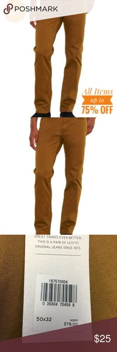 Levis 541 Big & Tall Brown 50 x 32 Mens Jeans NWT Levis 541 Big & Tall Brown 50 x 32 Mens Jeans NWT MSRP $78 Levi's Jeans Straight