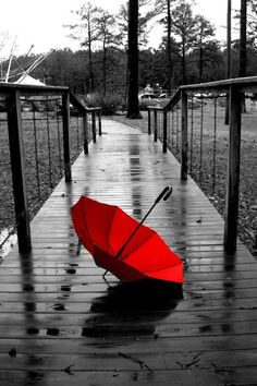 rojo #sombrilla
