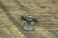 Twisted Mori Skull Silver Ring by Daruda on Etsy https://www.etsy.com/ca/listing/472004072/twisted-mori-skull-silver-ring