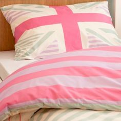 1000 images about union jack on pinterest union jack for Pink union jack bedding