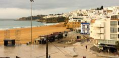 Greeting the arrival 2014 in the Algarve, Portugal