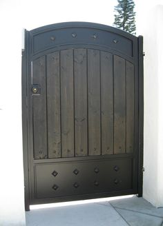Marquez Iron Works Gallery - Wooden and Iron Fence and Entry Gates