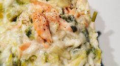 Risotto Poireaux Ricotta Saumon Ricotta, Quiche, Potato Salad, Mashed Potatoes, Chicken, Cooking, Breakfast, Ethnic Recipes, Food