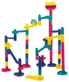 i had so many of these i set them up and built them so tall i had to go onto my top bunk in order to put the marbles on lol.