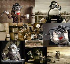A amizade  (imagem retirada da internet) Hoje assisti a um filme que me surpreendeu. Trata-se do filme de animação Mary e Max - Uma Amizade Diferente , dirigido pelo australiano Adan Elliot, que conta a história da amizade improvável entre uma menina de 8 anos australiana e um senhor de meia idade nova-iorquino, portador da síndrome de asperger, que se correspondem por décadas.  Adoro filmes que nos fazem refletir , que mexem com emoções e é claro, a narrativa não é nada óbvia.