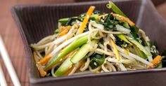 Japanese soba noodle salad Recipe, A quick and easy summer salad made with Soba noodles tossed together with silky bites of wakame! Enjoy this Japanese delicacy.