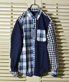 SHIPS JET BLUE(シップスジェットブルー)のSHIPS JET BLUE(シップス ジェットブルー): クレイジーパターン BDシャツ 16SS■(シャツ/ブラウス) ブルー