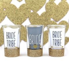 There are plenty of fun bachelorette party ideas that you can implement into your bash. Let the bride get wild one last time before her big day. Glitter Bachelorette Party, Bachelorette Gifts, Bachelorette Party Decorations, Bachelorette Party Favors, Bachelorette Weekend, Party Shots, Gifts For Wedding Party, Wedding Ideas, Bridal Shower Games