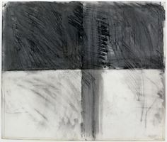 Brice Marden, Untitled, 1962, Charcoal on paper, 14 x 18 inches, Collection of Sarah-Ann and Werner Kramarsky, New York