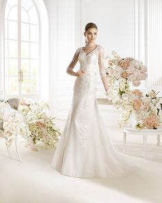 A-line Spring 2014 Tulle Wedding Dresses 2014 Wedding Dress Chiffon, Applique Wedding Dress, Wedding Dresses For Sale, Cheap Wedding Dress, White Wedding Dresses, Bridesmaid Dresses, Lace Applique, Bridal Gowns, Wedding Gowns
