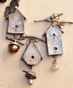 Christi Anderson birdhouses