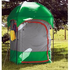 Texsport Deluxe Camp Shower/Shelter Combo $79 - Outdoor Ideas!