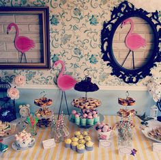 Diy Alice in Wonderland themed hens party with cutout wall as backdrop