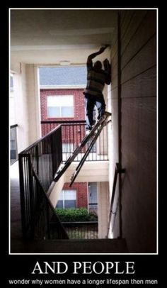 Wonder why women live longer than men?