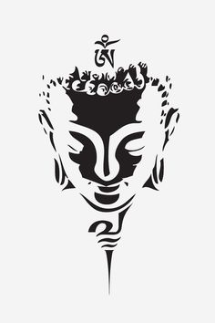 Buddha my tatoo Buddha Tattoos, Tribal Tattoos, Tatoos, Buddhism Tattoo, Buddha Tattoo Design, Buddha Painting, Buddha Art, Buddha Drawing, Stencils