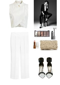 Белый костюм 2015 для женщины, white look