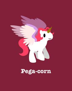 Pega-corn by Linpon
