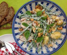 Koken met Karin op de camping: salade met krieltjes