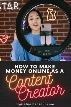 If you want to learn how to become a content creator? This article will teach you everything you need to know on making money from home and working online as a content creator. make sure to check it out now! #passiveincome #remotework #onlinejobs #onlinebusiness