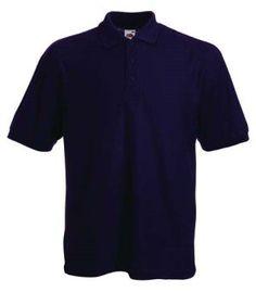Fruit of the Loom - Polo-Shirt 'Piqué Polo 65 35' violett,XXL Violett,XXL