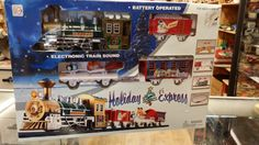 Holiday Express Train Set by BlingAndBlueJeans on Etsy