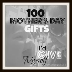 Mothers Day ideas?? Pin now read later.