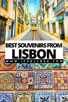 Guide to the best Lisbon souvenirs to bring back from your travels. Tips on what souvenirs to buy and where to buy then both shops and online. From Sardines, Pasteis de Nata, Moscatel wine, Ginjinha and more. #traveltips #portugal #tips #souvenirs #lisboa #shopping | Lisbon Souvenirs Shops | Lisbon Portugal Souvenir | Portuguese Souvenirs Lisbon Portugal | Best Souvenirs From Portugal | Porto Souvenirs | Souvenirs Ideas Travel |  Where To Buy Souvenirs In Lisbon