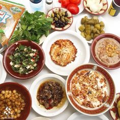 This is what we call A Lebanese Breakfast, Good Morning By Linda Hachem Lebanese Cuisine, Lebanese Recipes, Lebanese Breakfast, Lebanon Food, Breakfast Pictures, Good Morning Breakfast, Breakfast Buffet, Middle Eastern Recipes, Arabic Food