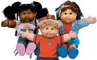 cabbage patch kids. I won one in the 80's!