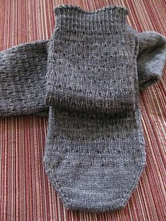 Welcome! I designed these socks for my son-in-law's birthday (they're just a little late :-). They're great for men who are 'not so adventurous' in their fashion choices.