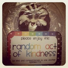 41 creative random acts of kindness to try this year!!!