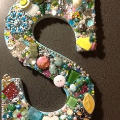 Jeweled letter