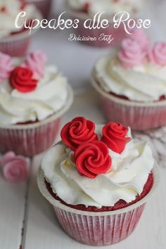 Cupcakes alle Rose
