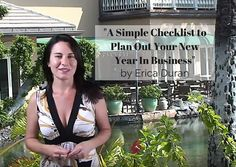 """A Simple Checklist to Plan Out Your New Year In Business"" by Erica Duran"